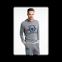Домашняя одежда U.S. Polo Assn - Пижама мужская (длин.рукав) 17140 серая М