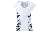Теннисная футболка HEAD VISION GRAPHIC T-SHIRT GIRL WH