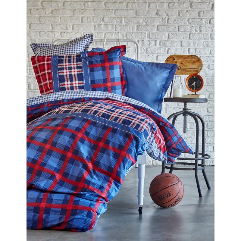 Постельное белье Karaca Home - Leal 2017-1 ранфорс пике подростковое