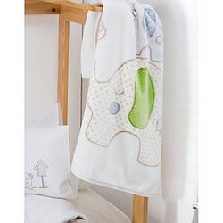 Детский плед в кроватку Karaca Home - Happy Days 2017-1 100*120