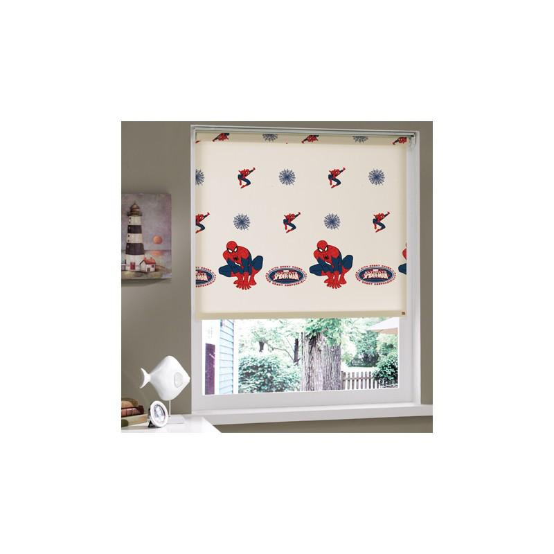 Штора в детскую комнату Tac - Spiderman 150*200