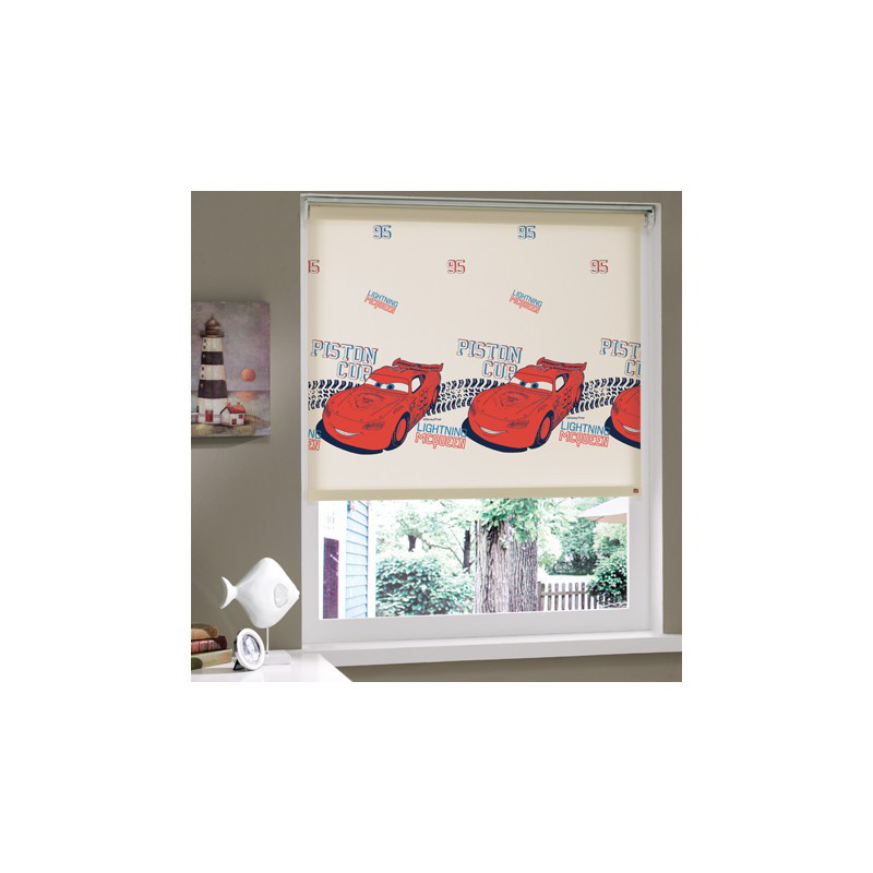 Штора в детскую комнату Tac - Cars 150*200