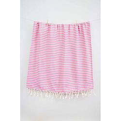 Рушник Barine Pestemal - Herringbone 100*185 Grey-pink