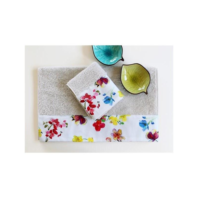 Полотенце махровое Barine - Flower Breeze 50*90