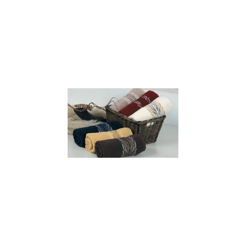 Полотенце махровое Cestepe - Versache Зебра 50*90