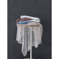 Скатерть Marie Claire - Ancolie 145*145 beyaz