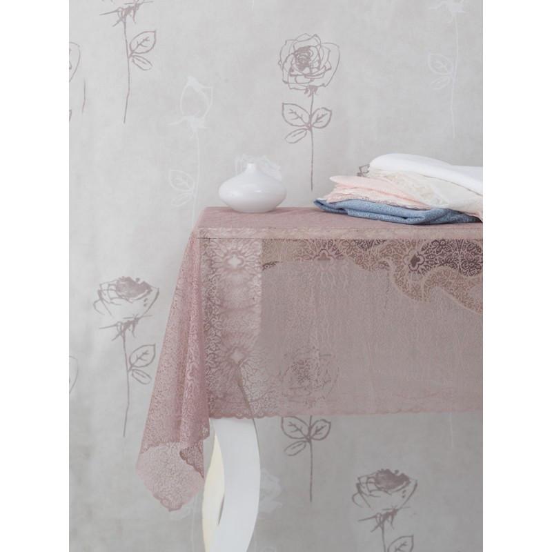 Скатерть Marie Claire - Viola 145*145 beyaz