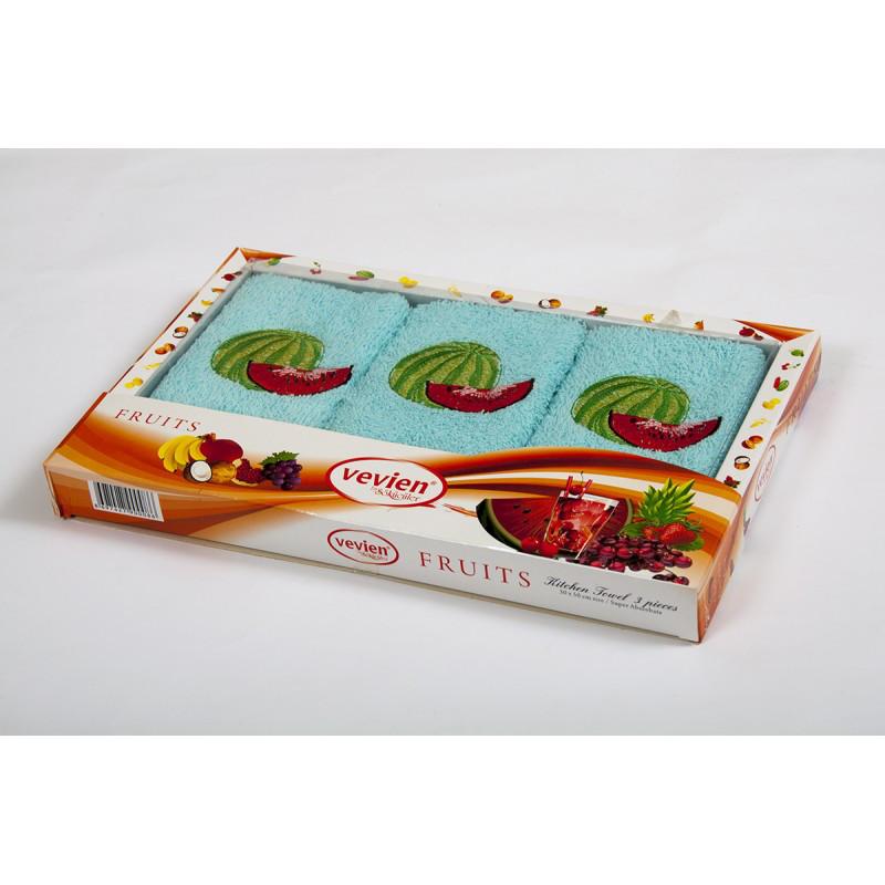 Набор махровых полотенец Vevien - Watermelon