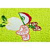 Полотенце кухонное Lotus вышивка - Fruit зеленый 40*60, фото 2