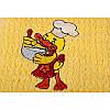 Полотенце кухонное Lotus вышивка - Duck желтый 40*60, фото 2