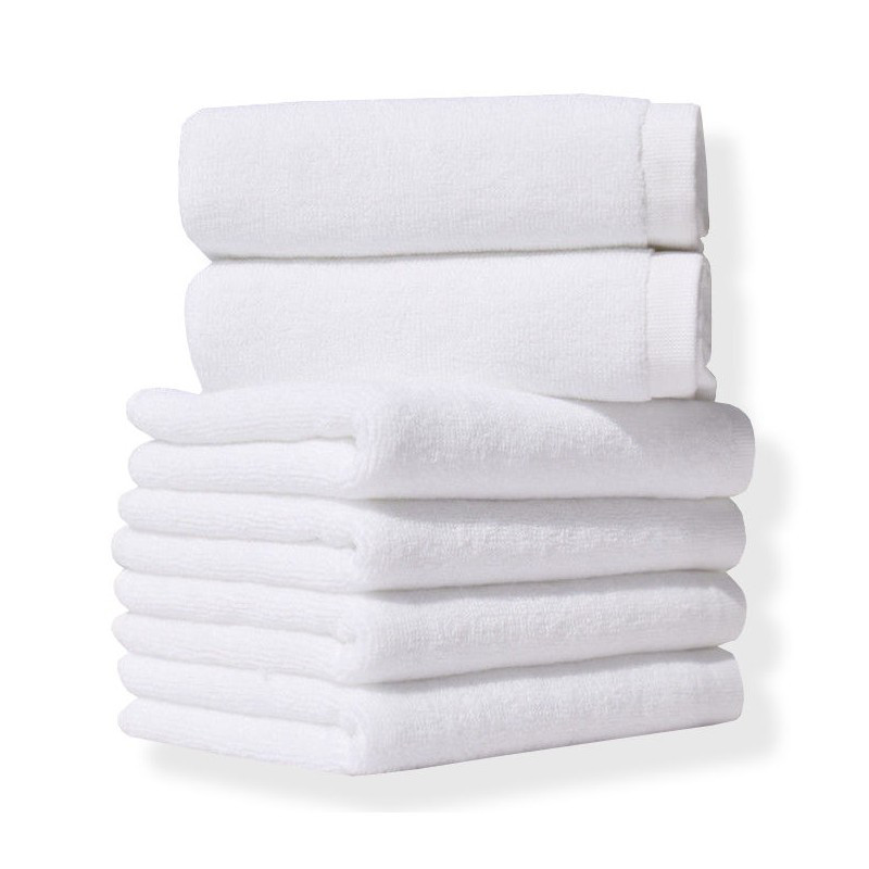 Полотенце Lotus Отель - Белый 40*70 (20/2) 500 г/м²