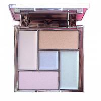 Палетка хайлайтеров Distorted Dreams Highlighter Palette Sleek MakeUP