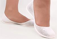 Балетки женские силиконовые Amore белые, фото 1