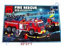 Конструктор Пожарная охрана 607 деталей. , фото 1