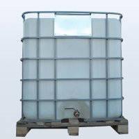 Емкость квадратная в решетке с металлическим краном 1000 литров
