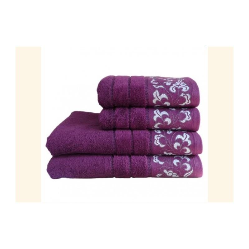 Полотенце Shamrock - Lara фиолетовый 70*140