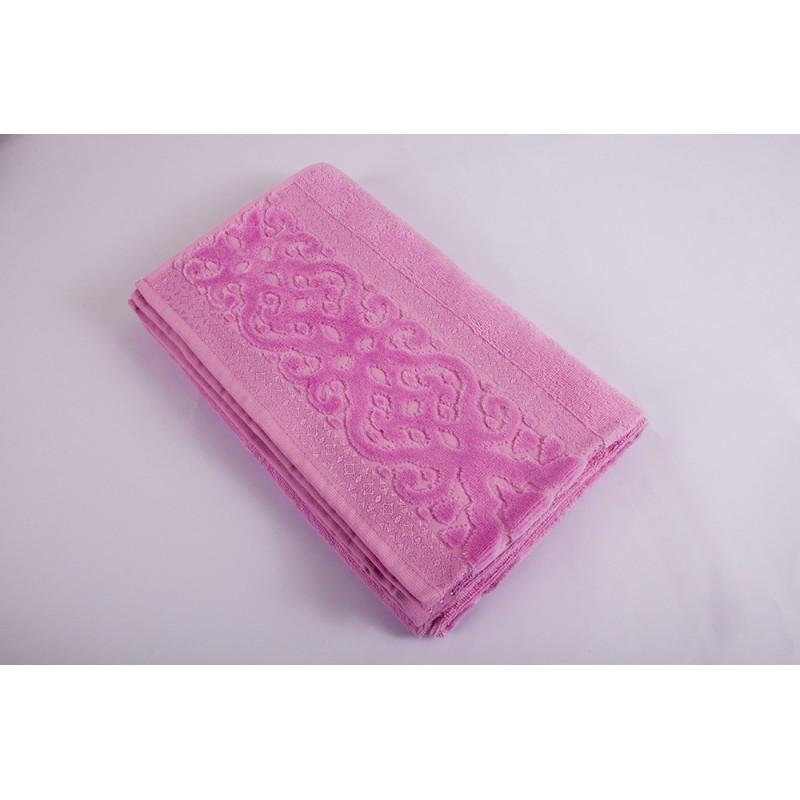Полотенце Shamrock - Misteria розовое 70*140