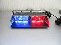 Стробоскопы на стекло.LED Viper S2 красно - синий. 22 см., фото 1