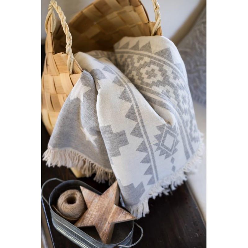 Плед-накидка Barine - Wool Rug Throw 130*170