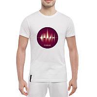 Мужская футболка - резонанс, отличный подарок купить со скидкой, недорого