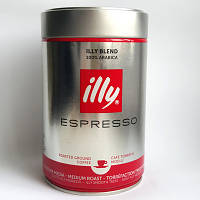 Кофе молотый illy Espresso 100% Arabica 250грамм, фото 1