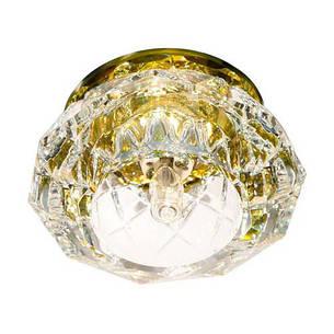 Встраиваемый светильник Feron JD71 прозрачный желтый , фото 2