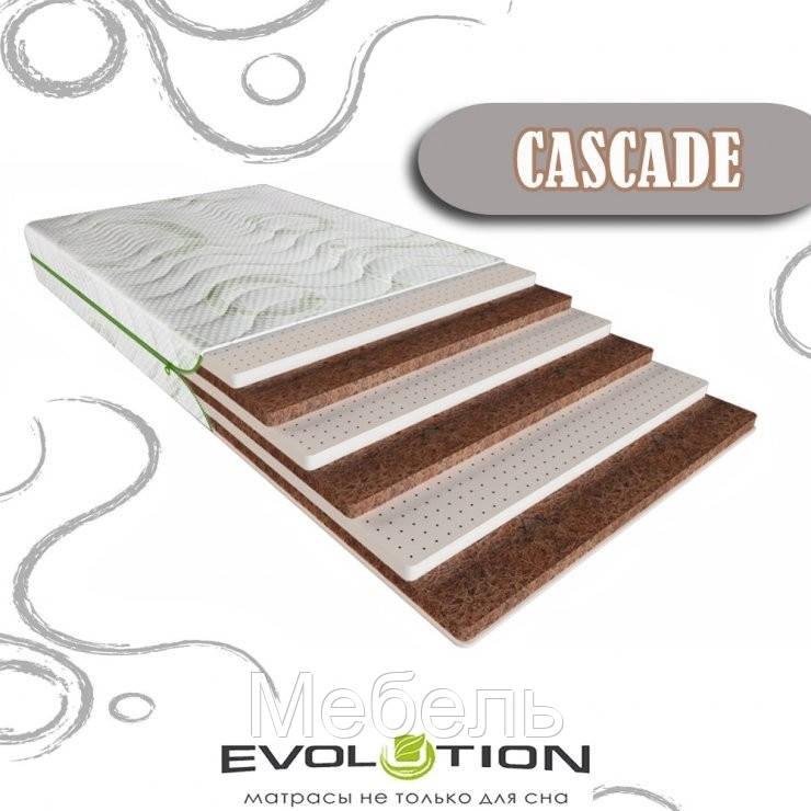 """Беспружинный Матрас Evolution """"Cascade new"""",Днепр"""