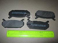 Колодки тормозные MAZDA 626 задние (Intelli). D551E