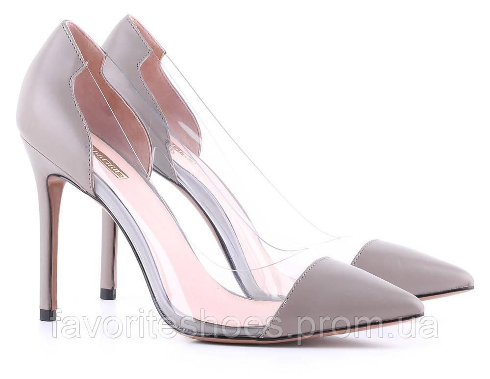 Туфлі Anemone 39 Сірий 00000008376 - Интернет-магазин