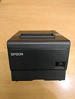 POS Термопринтер чеков Epson TM-T88V Новая головка! WI-FI