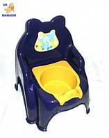 Горщик дитячий №2 синій
