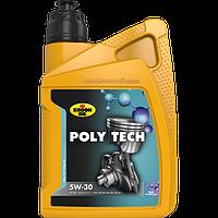 Моторное масло kroon oil poly tech 5w-30 1 литр