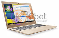 Ноутбук 15' Lenovo IdeaPad 520-15 (81BF00EERA) Gold 15.6' матовый LED FullHD (1920x1080), Intel Core i5-8250U 1.6-3.4GHz, RAM 8Gb, SSD 256Gb, nVidia
