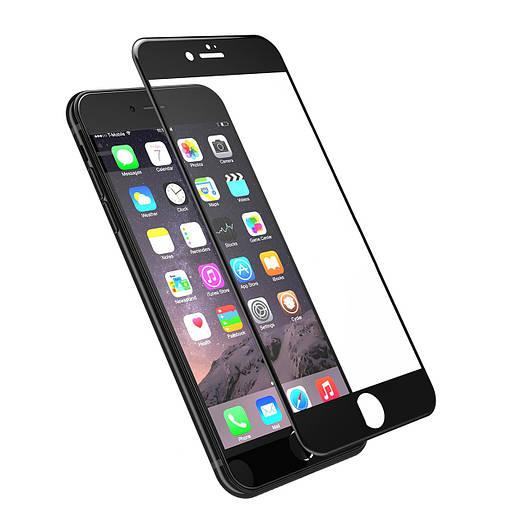 Защитное стекло для iPhone 7/8 3D Black (тех.пак)