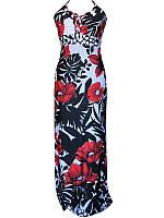 Платье для беременных №245 (с цветами)
