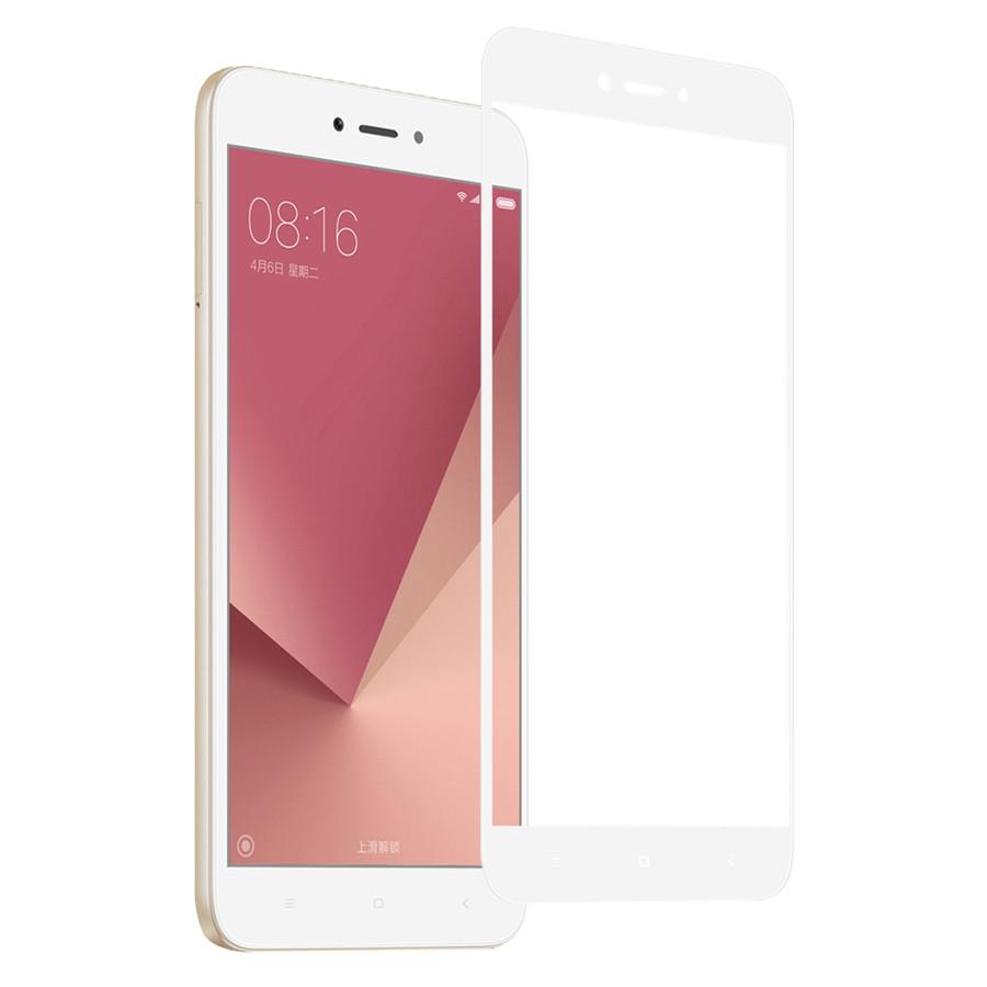 Защитное стекло для Xiaomi Redmi Note 5a/Note 5a Prime 3D White