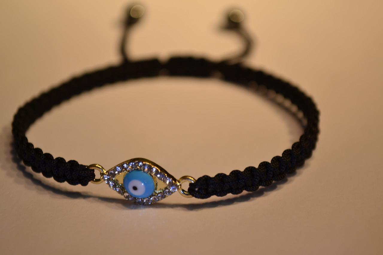 Черный браслет с оберегом «Назар»№4