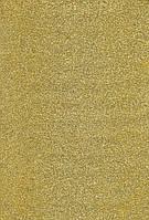 Фоамиран с блеском А4 Свело-желтый 2 мм.