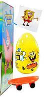 """Игрушка яйцо """"Губка Боб"""" сюрприз с драже 24 шт (Aras)"""