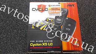 Автосигнализация CYCLON X5 LC с выкидным ключом