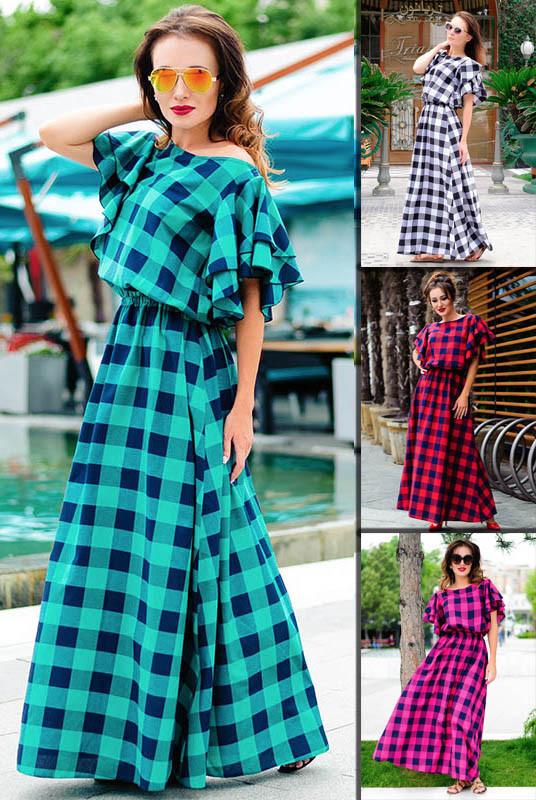 6855c296739 Стильное платье в клетку  Шерлиз  - LOOK BUY в Одессе