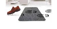 Супервпитывающий придверный коврик Clean Step Mat хорошее качество