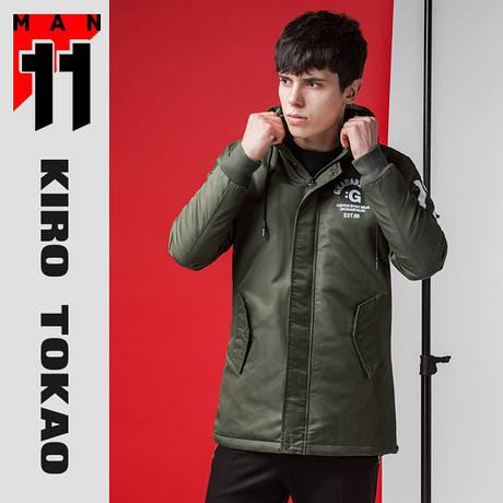 11 Kiro Tokao | Парка демисезон 66201 хаки