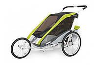 Детская коляска-прицеп для велосипеда Thule Chariot Cougar 2 (Avocado)