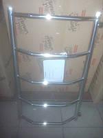 Полотенцесушитель лесенка с боковым подключением 40см шириной и 60см высотой
