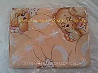 """Набор сменного постельного белья в детскую кроватку.Комплект """"Мишки спят"""""""