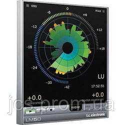 Плагин t.c.electronic LM5D Loudness Meter for TDM/Pro Tools