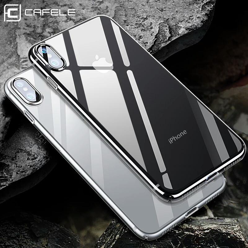 Високоякісний силіконовий чохол на iphone X.
