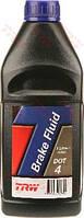 Жидкость тормозная DOT-4 1,0L (TRW). PFB401