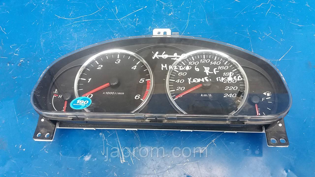 Панель щиток приборов Mazda 6 GG 2002-2007г.в. 2.0 CDI Kombi JGGJ6WA